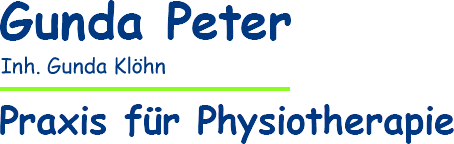 Gunda Peter - Praxis für Physiotherapie - Inhaberin Gunda Klöhn